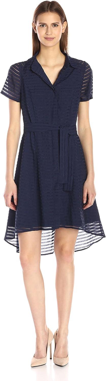 Max 64% OFF Donna Ricco Women's Short-Sleeve Shirtdress Cheap bargain