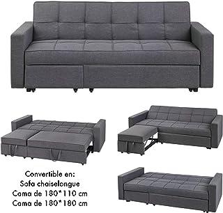 Amazon.es: sofás cama clic clac