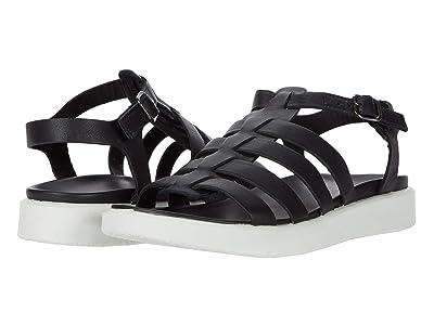 ECCO Flowt LX Sandal (Black Cow Leather) Women