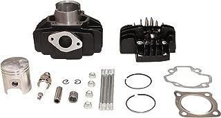 Cylinder Piston Gasket Cylinder Head Kit 44mm Big Bore Fit Yamaha PW50 1981-2018