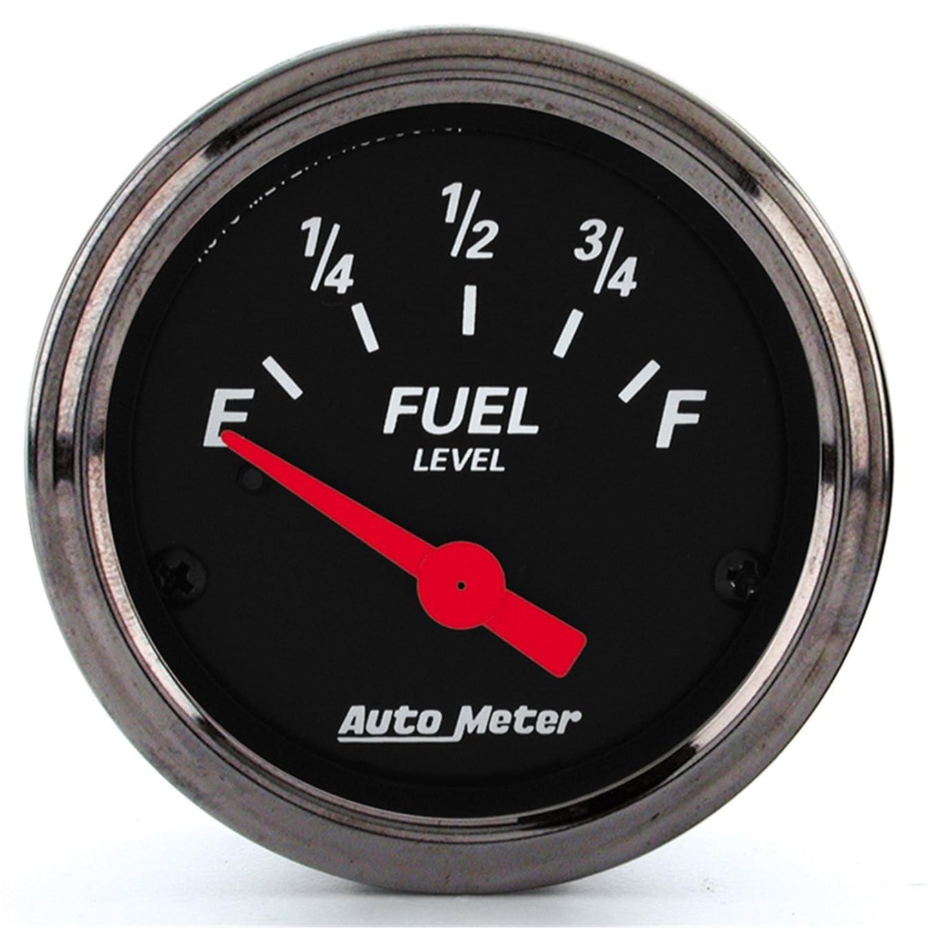 Auto Meter 1415 Designer Black Fuel Level Gauge