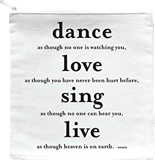 P82 Dance Love Sing Live Pouch