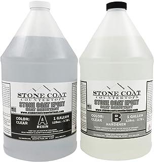 Stone Coat Countertops 2 Gallon Epoxy Kit – DIY Epoxy Resin Kit for Coating Kitchens, Bathrooms, Counters, Tables, Wood Sl...