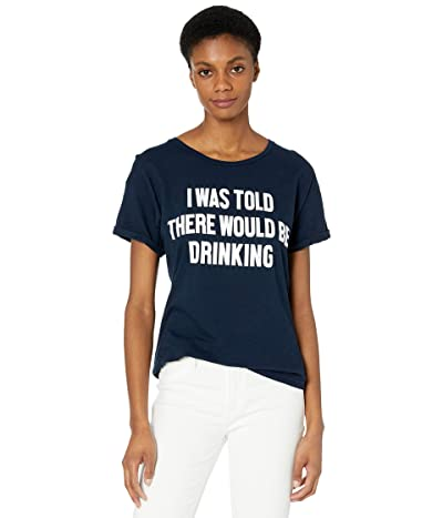The Original Retro Brand I Was Told There Was Drinking Rolled Short Sleeve Slub Tee