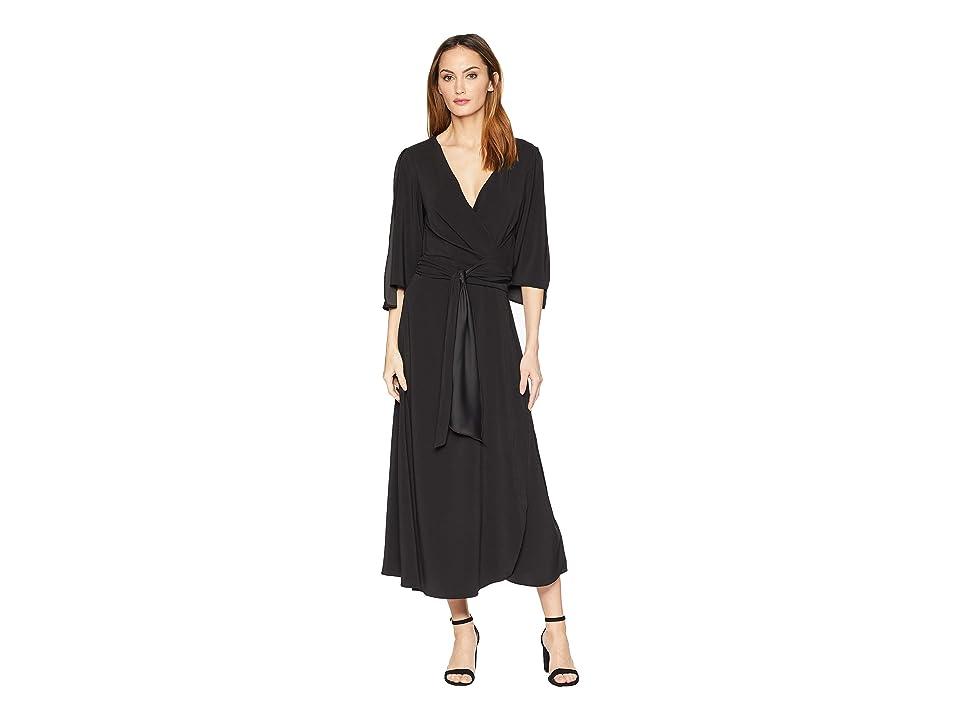 Kenneth Cole New York Drapy Maxi Dress (Black) Women