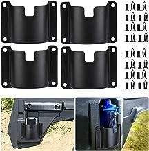 Pioneer Drink Cup Holders, KEMIMOTO 4 Pcs Door Mount Bottle Holders Compatible with Honda Pioneer 1000-5/700-4 Front Rear Doors