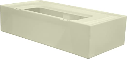 White Wise 8WD114-1B-204 Deluxe Series Pontoon 45 Right Lounge Base Only