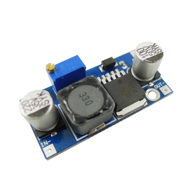 EasyWordMall 4A XL6009 DC-DC ブースター 電源 モジュール 超調整可能な昇圧レギュレータ