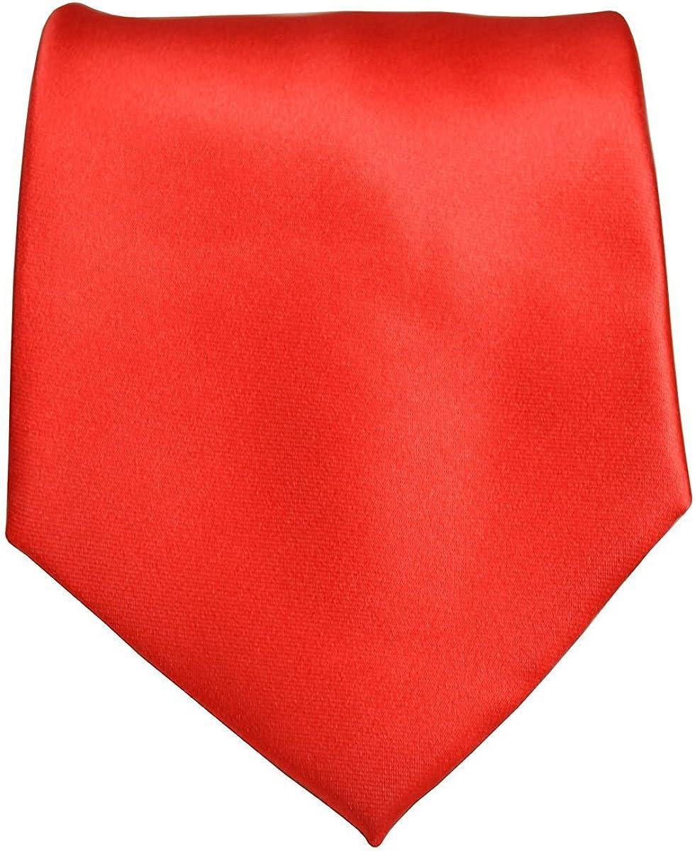 Mens Solid Color Formal Tie Necktie 3.5