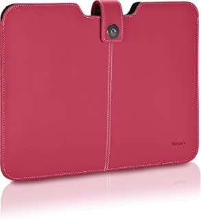 Click To Open Expanded View Targus Twill Sleeve for 13.3-inch Laptop/Ultrabook/Macbook Air/Pro Pink Best Top Popular Present Idea Her Him Women Men Aunt Roommate Coed Coworker