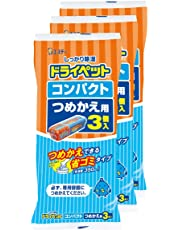 【まとめ買い】 ドライペットコンパクト 除湿剤 詰め替えタイプ つめかえ用 (350ml×3個入)×3個