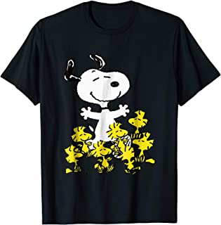 s Snoopy chick party T-shirt
