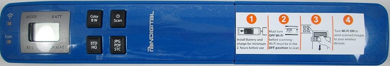 $39 » Pandigtal- Handheld WIFI Wand Scanner - Blue