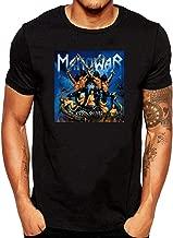 XUNLINLL Manowar Album Men's T Shirt Black