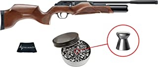 Walther Rotek .177 Caliber Air Rifle with Included Pack of 500 Pellets Bundle (Pellets Caliber/Weight .177/7.48 Grains) and Wearable4U Cloth