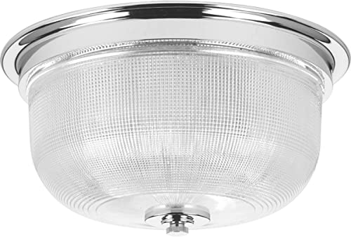 lowest Progress Lighting P3740-15 Transitional Two Light Close-to-Ceiling from 2021 Archie Collection Finish, Polished discount Chrome online sale