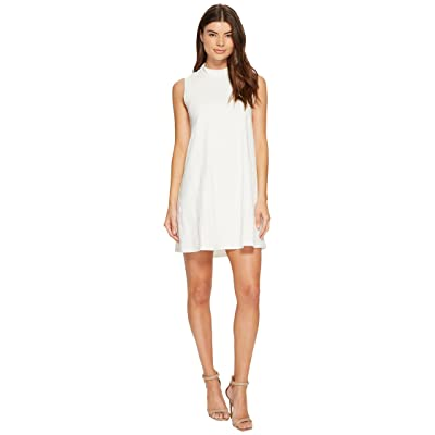 CATHERINE Catherine Malandrino Sleeveless Mock Neck Dress (Off-White) Women