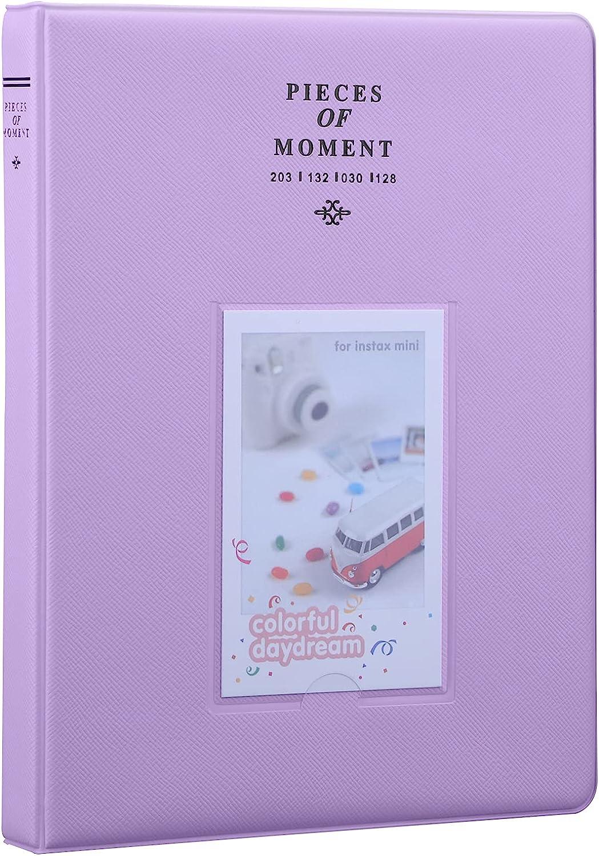 Antner 128 Pockets Mini Price reduction Photo Album 5% OFF 7s for Instax Fujifilm