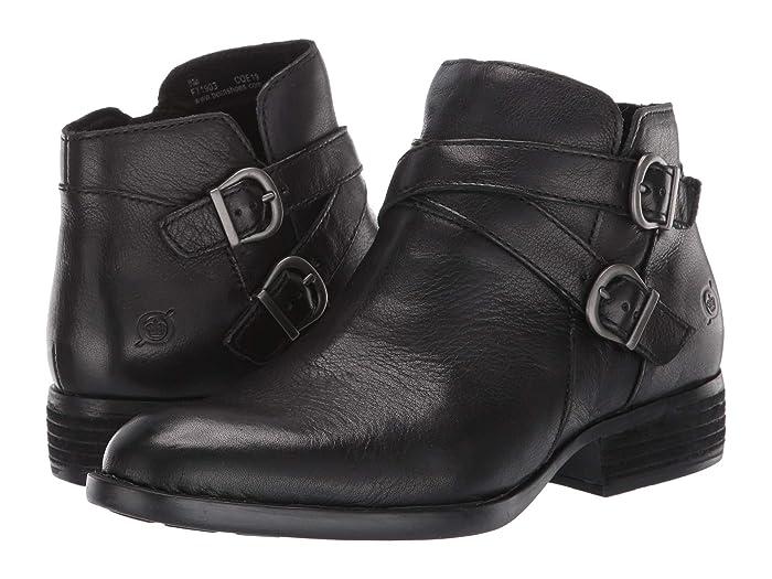 Born  Ozark (Black Full Grain Leather) Womens  Boots