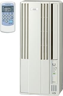 コロナ ウインドエアコン (冷房専用タイプ) 液晶リモコン付 マイナスイオン発生機能付 シティホワイト CW-A1817(W)