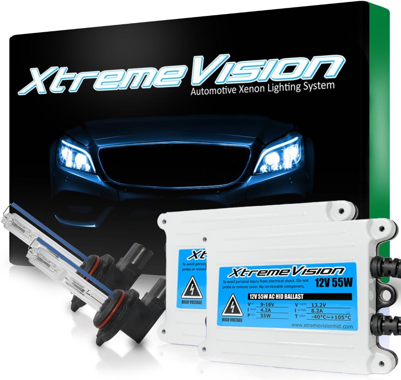 XtremeVision 55W いつでも送料無料 AC Xenon HID Bundle Pai Slim 1 毎日がバーゲンセール Ballast with
