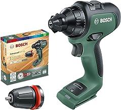 Bosch - Taladro/atornillador a batería AdvancedDrill 18 (sin batería, sistema de 18 voltios, en caja de cartón)