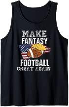 Make Fantasy Football Great Again Funny Donald Trump  Tank Top