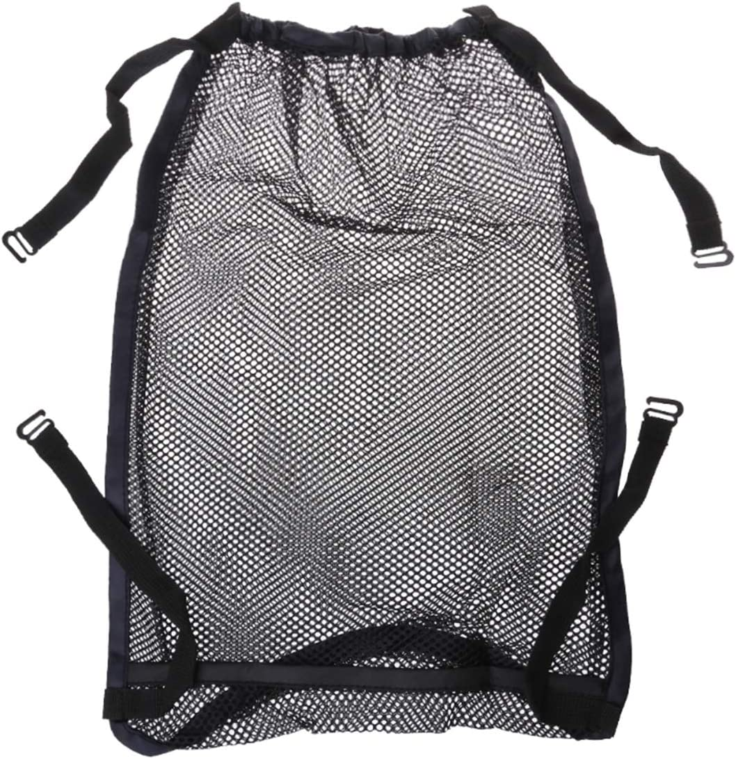 iFCOW Baby Stroller Hanging Mesh Net Bag, Infant Prams Storage Organizer Bag