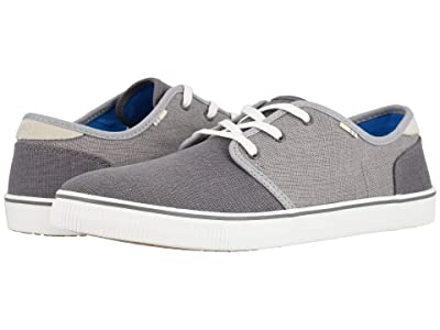 TOMS Carlo (Shade/Drizzle Grey Heritage Canvas (Vegan)) Men