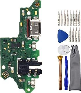 Sunways Cable de carga USB tipo C 2.0 con puerto flexible para auriculares y micrófono de repuesto para Huawei Y9 Prime 2019 9X Premium Honor 9X STK-LX1 STK-L21 STK-L22 STK-LX3