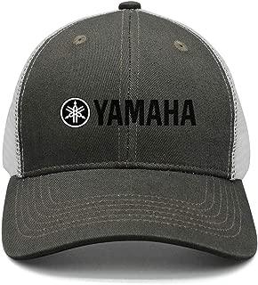 Graphic Yamaha-Logo-Black-Symbol-Emblem- Sun Hat Womens Mens