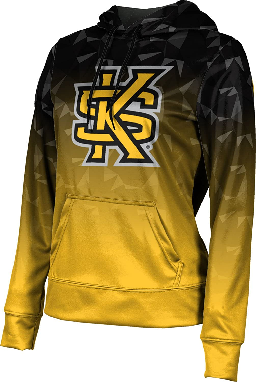 ProSphere Kennesaw State University Girls' Pullover Hoodie, School Spirit Sweatshirt (Maya)