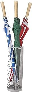 Mind Reader UMBHWIRE-SIL, Metal Wire Basket, Entry Hallway Umbrella Holder, Home, Office Décor, Silver