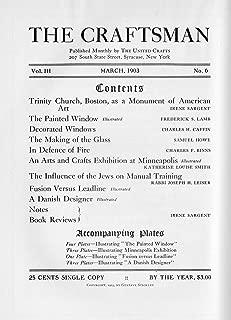 The Craftsman Magazine-Volume 3, Number 6-March 1903