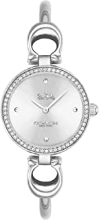 Coach WOMEN'S WHITE DIAL STAINLESS STEEL WATCH - 14503448