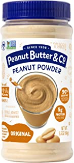Peanut Butter & Co. Original Peanut Powder, Non-GMO Project Verified, Gluten Free, Vegan, 6.5 oz Jar