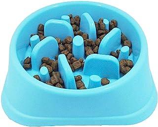 SUPERGOODS Slow Feeder Dog Bowls, Maze Interactive Dog Puzzle Non Skid Stop Dog Food Bowls, Fun Feeder Sol Bowl, Eco-Frien...