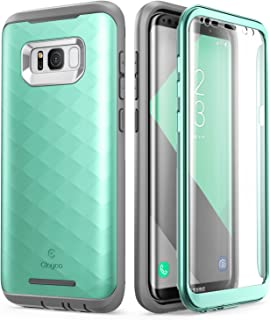 Samsung Galaxy S8 Plus Case, Clayco [Hera Series] Full-Body Rugged Case with Built-in Screen Protector for Samsung Galaxy S8 Plus (2017 Release) (MintGreen)