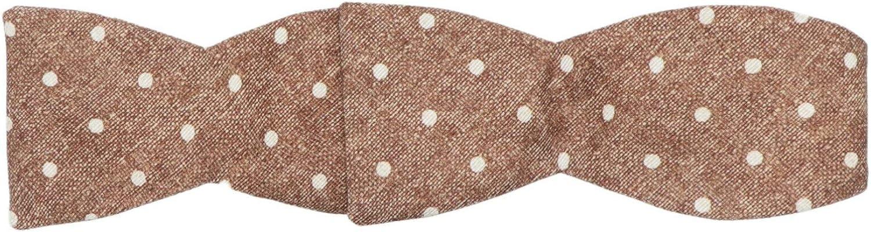 Edward Armah Men's Silk Polka Dot Hook Bow Tie