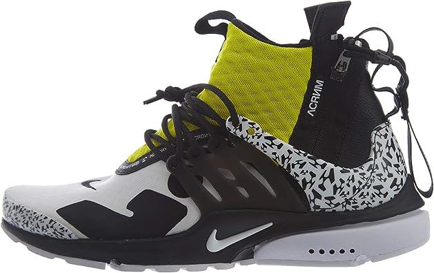 Nike Air Presto Mid/Acronym Mens Hi Top Trainers Ah7832 Sneakers Shoes