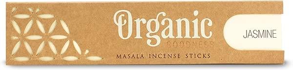 Song Of India Jasmine Organic Goodness Masala Incense Sticks