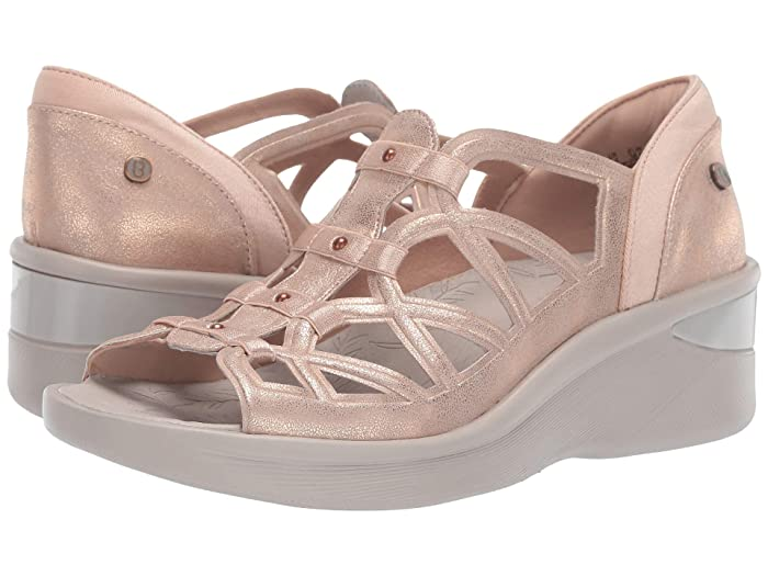 Bzees  Sasha (Rose Gold Metallic) Womens Sandals