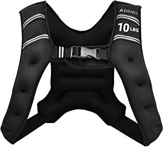 Adurance Weighted Vest Workout Equipment, 6lbs 10lbs...