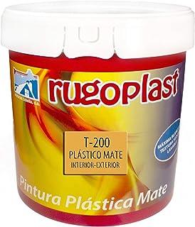 Pintura plástica mate blanca económica T-200 para las paredes de tu casa tanto en interior y como exterior (23 Kg) Envío GRATIS 24 h.