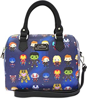 Marvel The Avengers Chibi All Over Print Duffle Bag Purse - MVTB0077