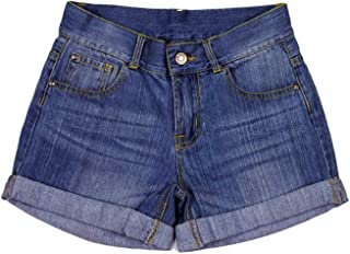 Bienzoe Girl's Denim Shorts