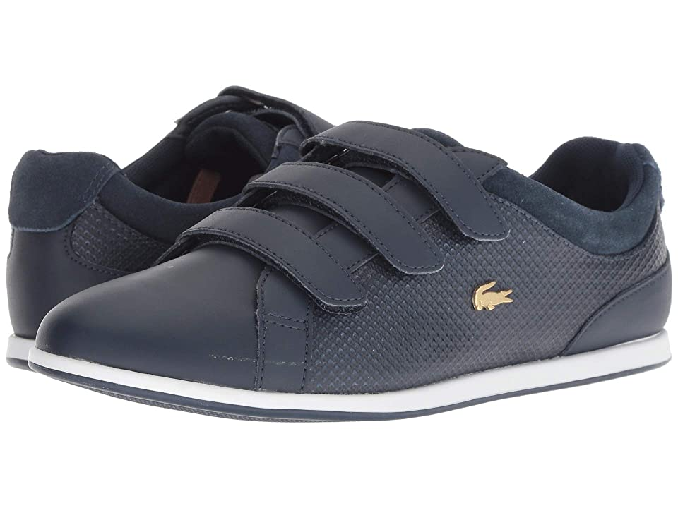 Lacoste Rey Strap 418 1 (Navy/Gold) Women