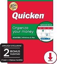 $34 » Quicken Starter Personal Finance - 14-Month Subscription [Amazon Exclusive] [PC/Mac Online Code]