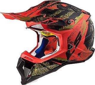 LS2 Motocross-Helm MX 470 Subverter Schwarz Gr. XL
