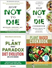 How Not To Die Cookbook Michael Greger, Plant Anomaly Paradox Diet Evolution, Plant Based Cookbook For Beginners 4 Books C...